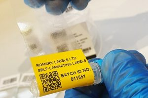 Romark deep freeze labels